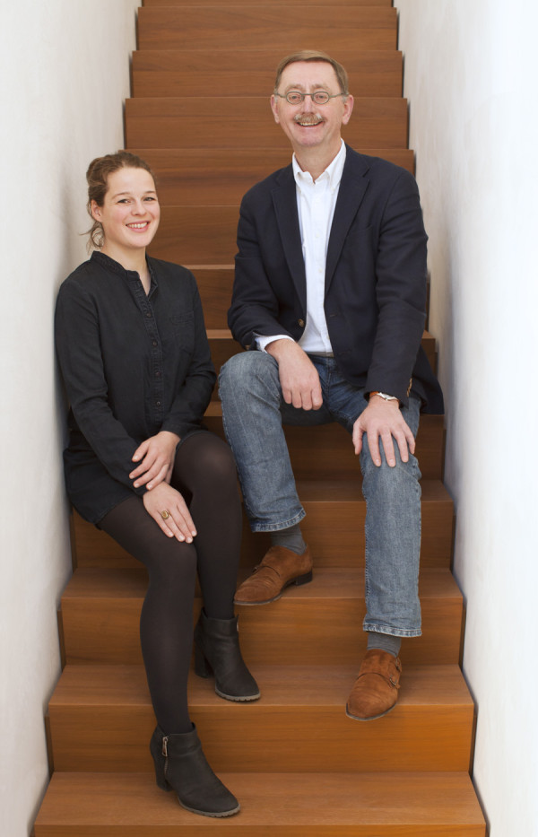 Marrit Winkeler & Frank Willems directeur van WillemsenU